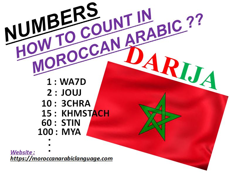how to say numbers in darija from 1 to 1000