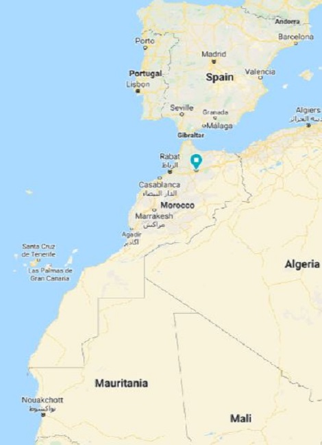 where is morocco located moroccanarabiclanguage.com